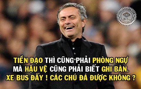 Mourinho luôn tỏ ra khác biệt