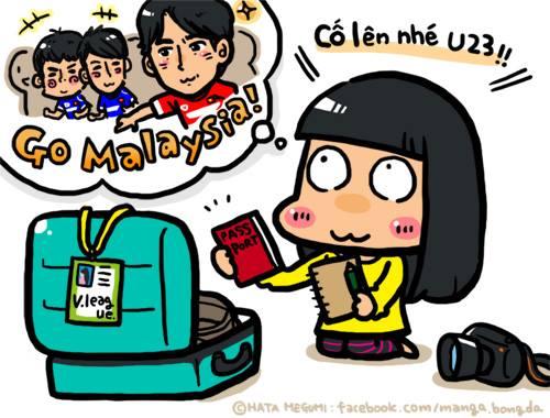 Nữ phóng viên người Nhật sẽ đến Malaysia