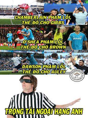 Trọng tài Premier League là thế