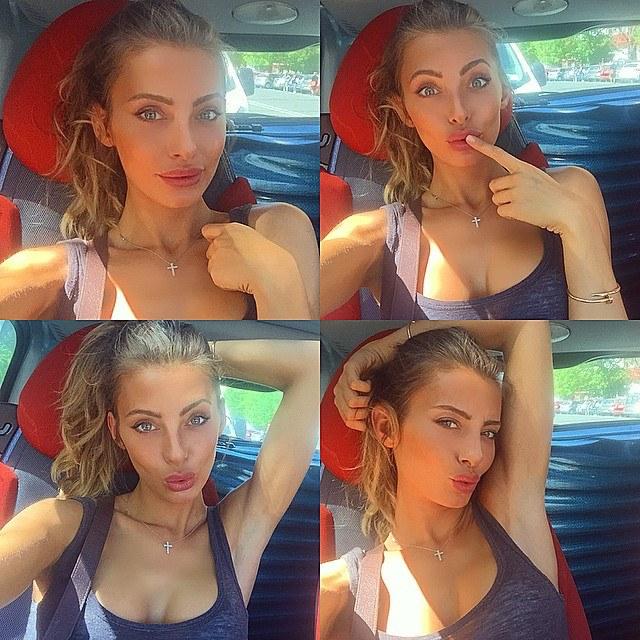 Nàng Alessia Tedeschi xinh đẹp