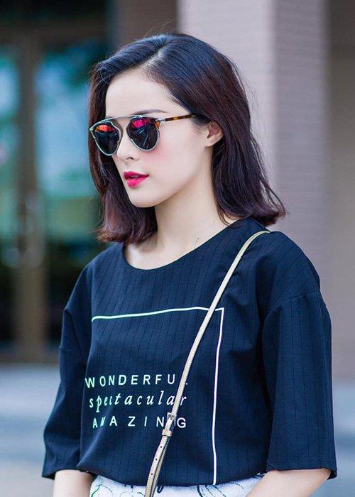 Hiện tại, cô đang thử sức ở lĩnh vực điện ảnh với bộ phim Tấm Cám do Ngô Thanh Vân sản xuất.