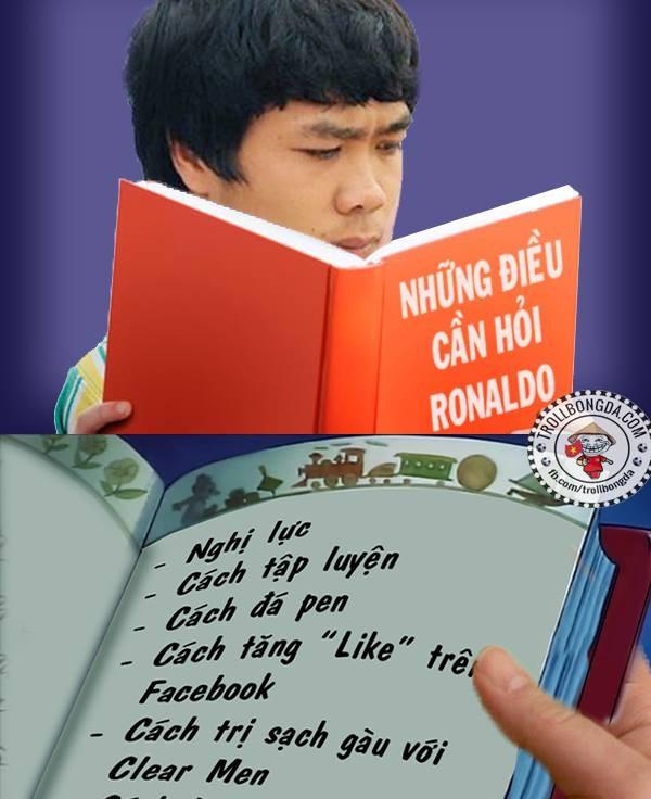 Đây chính là âm mưu của Công Phượng. Học hỏi được những điều này từ Ronaldo, Phượng sẽ tiến bộ rất nhanh.