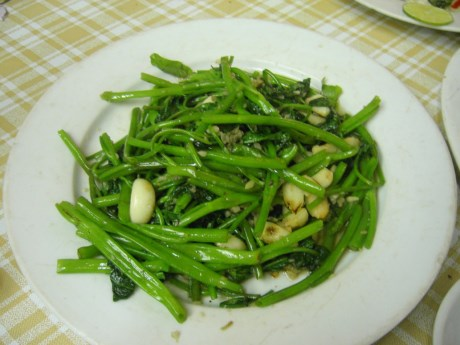 Do đó, tốt nhất là phòng nhiễm sán bằng cách không ăn rau muống sống.
