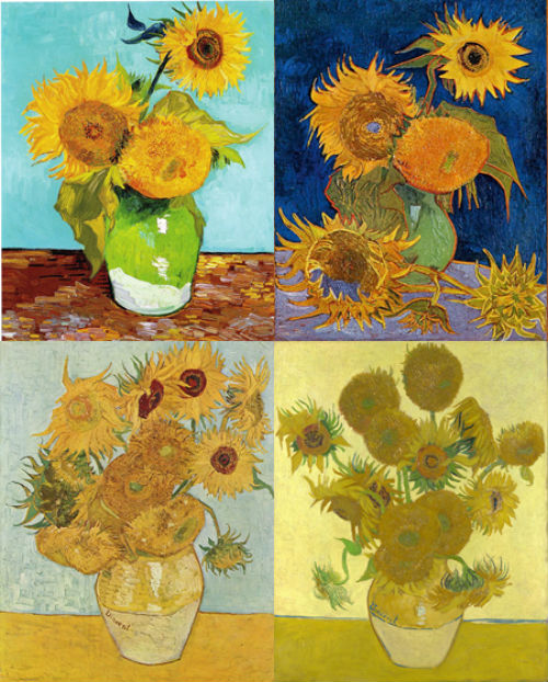 Chùm tranh Hoa hướng dương (1890)