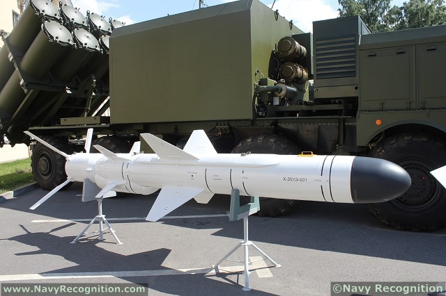 Tên lửa chống hạm Kh-35UE (Uran-UE)