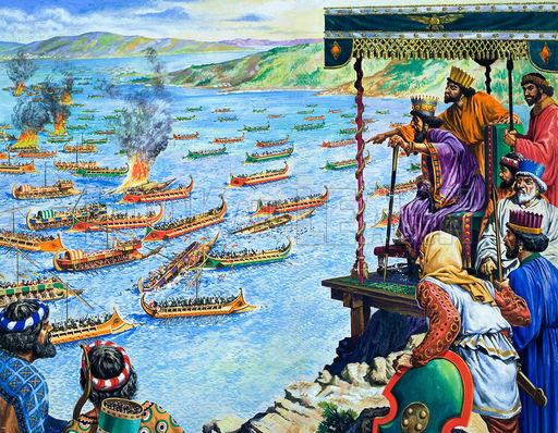 Ba Tư muốn chiếm cả Hy Lạp