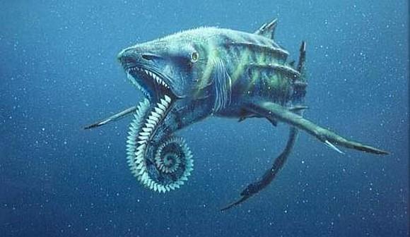 top 10 động vật thời tiền sử quái ác nhất dưới biển 4