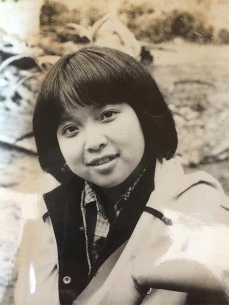 MC Thảo Vân có rất nhiều nét giống mẹ.