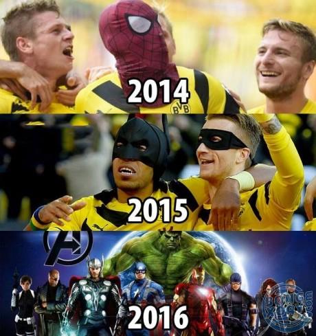 Dortmund trong tương lai
