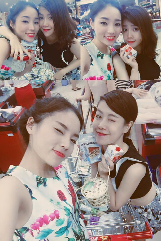 Phương Anh cũng là bạn thân của Hoa hậu Kỳ Duyên.