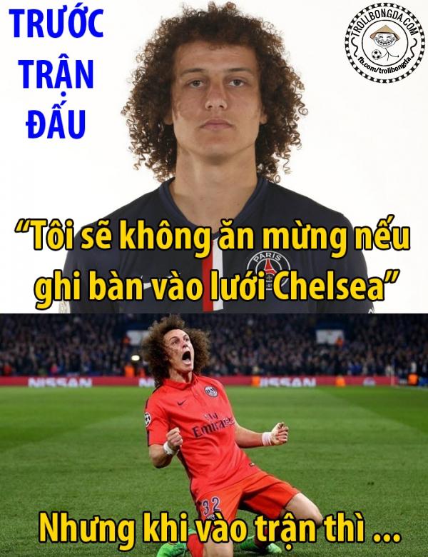 David Luiz đã thất hứa