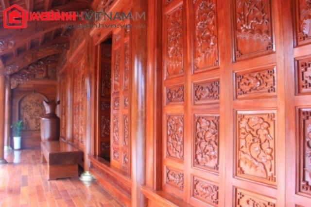 Ngôi nhà sàn bằng gỗ quý thứ 2 của đại gia Điện Biên