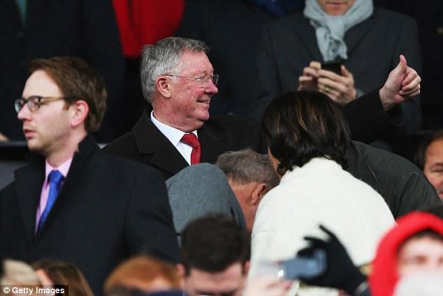 Sir Alex sung sướng khi Man United chiến thắng