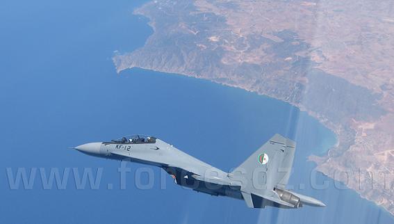 Máy bay chiến đấu Su-30MKA của không quân Algeria