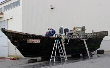 11 chiếc thuyền chở thi thể trôi dạt vào bờ biển Nhật Bản được phát hiện chỉ trong vòng 2 tháng qua.