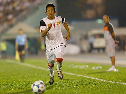 Hồng Duy là cầu thủ rất lợi hại ở cánh trái của ĐT U23 Việt Nam.