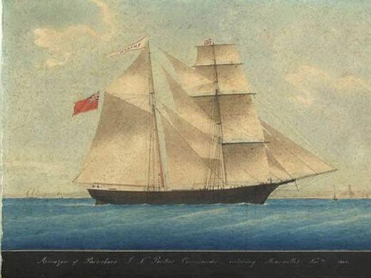 """Năm 1872, một con tàu được tìm thấy trên Đại Tây Dương và bị trôi dạt vào bờ biển gần đó. Trên tàu, mọi thứ đều như mới và thậm chí lương thực đủ dùng cho 6 tháng. Sau đó, người ta xác định đây là tàu buôn Mary Celeste bị mất tích bí ẩn cách đó hàng chục năm. Thế nhưng, nguyên nhân mất tích và lí do trở lại của nó vẫn đang làm các nhà khoa học """"điên đầu"""". (Ảnh: Internet)"""