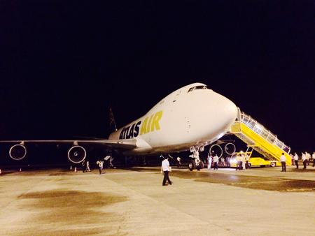 Vinpearl Safari đã đón 3 chuyến chuyên cơ chuyển thú từ Mỹ, châu Âu và Nam Phi về Phú Quốc, trong đó có cả chuyên cơ cỡ lớn Boeing 747