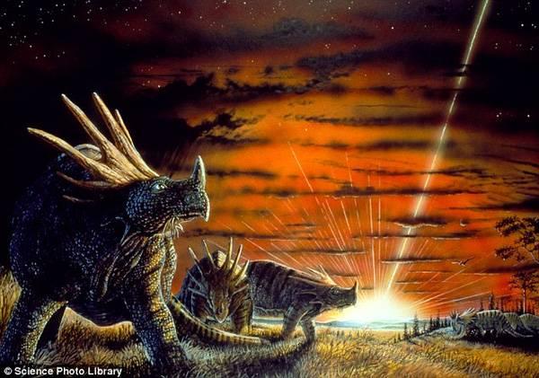 Giả thuyết về thiên thạch khổng lồ đã gây ra sự diệt vong cho khủng long cùng nhiều loài sinh vật cổ đại