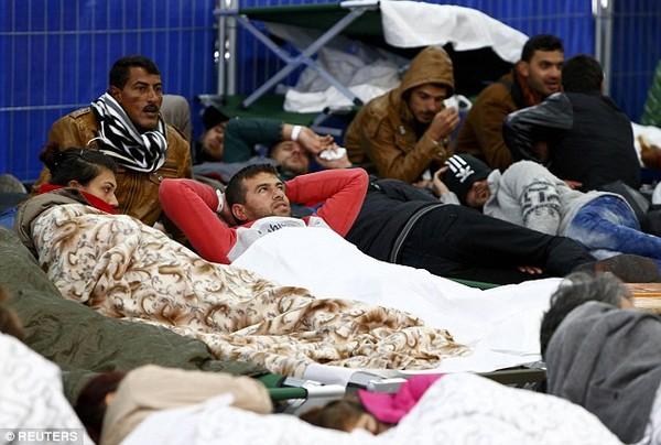 Hiện nhiều trại tị nạn tại Đức đang phải chuyển sang chính sách chỉ thuê nhân viên nam giới làm tạp vụ.