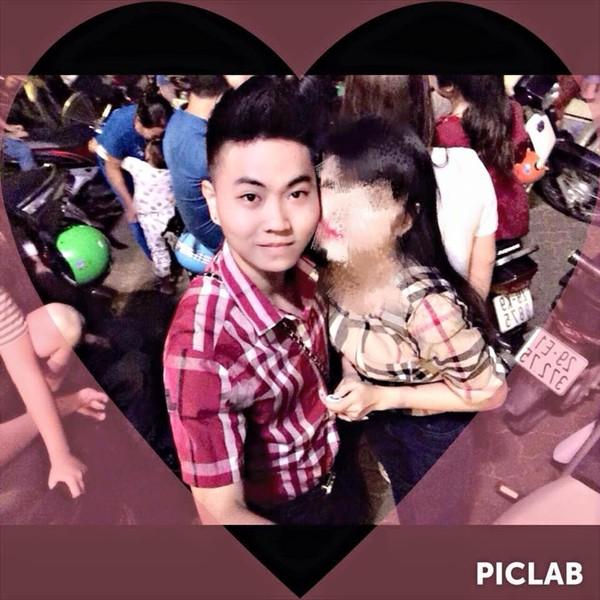 Hình ảnh H. và người bạn gái.