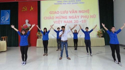 Nguyễn Văn Vinh luôn là một cây văn nghệ của trường