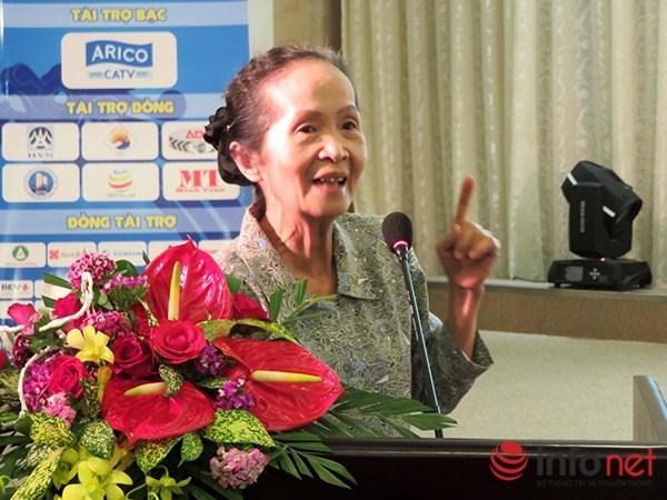 Chuyên gia kinh tế cao cấp Phạm Chi Lan. Ảnh Hải Châu