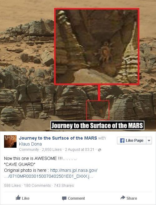 Một thành viên phát hiện ra sinh vật lạ trong bức ảnh trên và ngay lập tức khiến cộng đồng mạng xôn xao.
