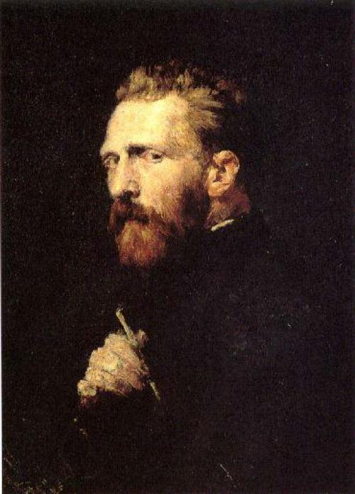 Chân dung Vincent van Gogh năm 1886