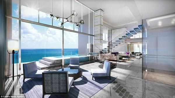 Tác phẩm kiến trúc này được thiết kế bởi các kiến trúc sư thuộc công tySOMA đến từ New York, Mỹ. Còn hai tập đoàn Omniyat và Drake & Scull International chịu trách nhiệmxây dựng.