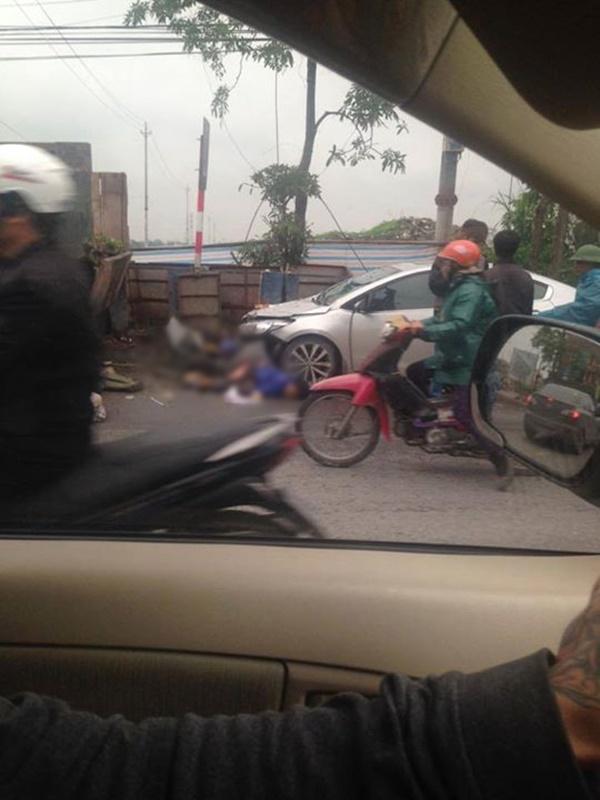Hiện trường vụ tai nạn khiến 2 nữ lao công tử vong. Ảnh: otofun