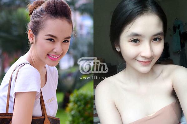 9x xinh đẹp bị nhầm tưởng là Angela Phương Trinh