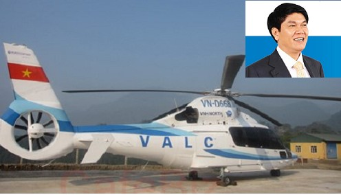 Đại gia Trần Đình Long đã bán chiếc trực thăng này cho một doanh nghiệp Hong Kong.