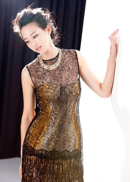 Nữ diễn viên 33 tuổi có xuất thân danh gia vọng tộc ở xứ Đài.