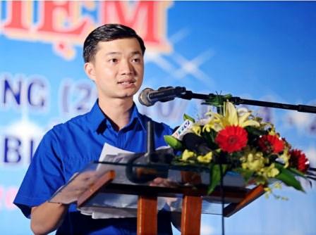 Ông Nguyễn Minh Triết là người trẻ tuổi nhất được bầu vào Ban Chấp hành Đảng bộ tỉnh Bình Định. Ảnh: Tư liệu