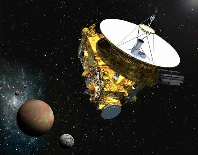 Tàu vũ trụ nhanh nhất hiện nay - New Horizons.
