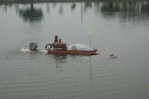 Clip Tàu ngầm Hoàng Sa thử thành công: Lặn nổi nhịp nhàng - Ảnh 2.