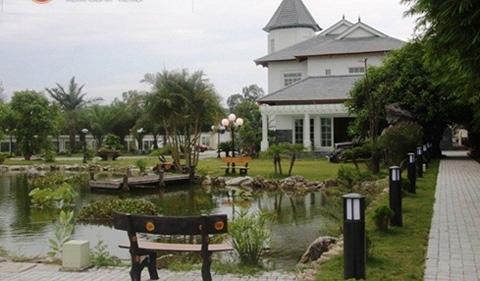 Một góc trong khu Bạch Dinh của đại gia Thanh Hóa Cao Tiến Đoàn.
