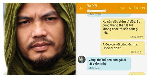 Những tin nhắn của Trần Lập với vợ anh sau khi nhận tin dữ