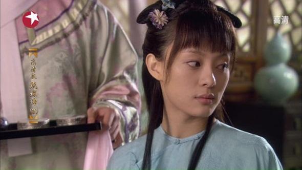 Vẻ đẹp trong sáng, không màng danh lợi của Chân Hoàn (Tôn Lệ) khi mới nhập cung trong bộ phim Hậu cung Chân Hoàn truyện.