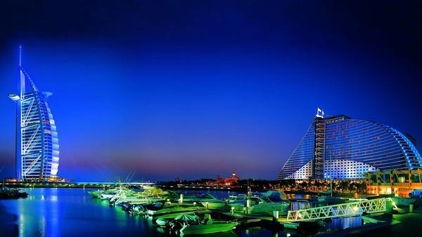 Khung cảnh như thiên đường ở Dubai.