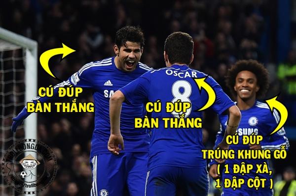 Chelsea của những cú đúp