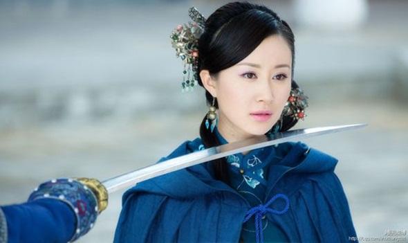 Vân Tần (Thư Sướng) đẹp mặn mà trong bộ phim truyền hình Cung tỏa châu liêm.