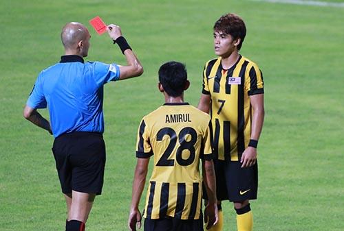 U23 Malaysia đã phải khổ chiến trước Đông Timor