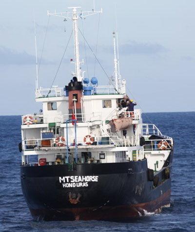Con tàu Zafirah bị cướp biển đổi tên và đi vào vùng biển Việt Nam Ảnh tư liệu