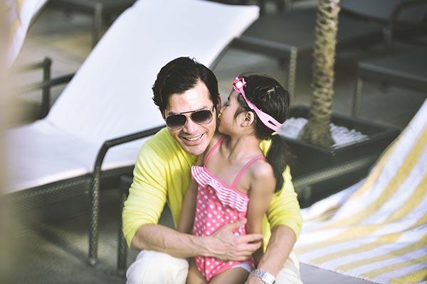Ngoài ra, Trần Bảo Sơn cũng muốn dành thời gian cho cô con gái nhỏ Bảo Tiên.