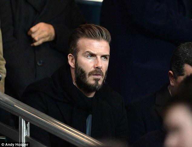 Bộ râu của David dạo này khá rậm!