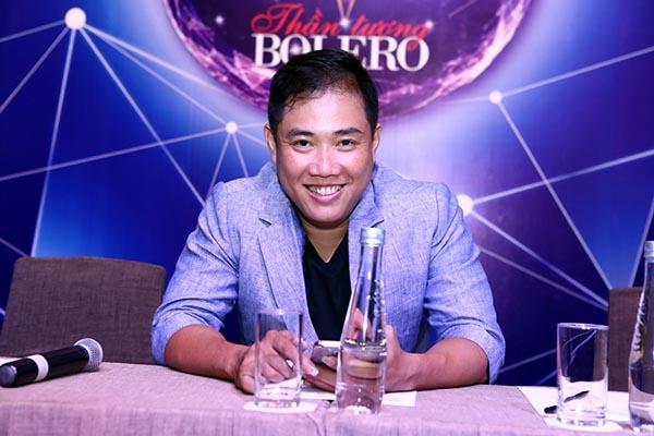 Ngoài 4 huấn luyện viên, nhạc sĩ Minh Vy - ông xã của ca sĩ Cẩm Ly cũng có mặt trong sự kiện. Thời gian tới, anh sẽ đảm nhận vai trò giám đốc âm nhạc của Thần tượng Bolero.