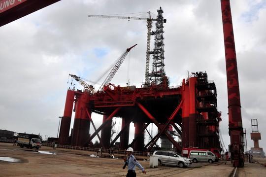 Nhà máy đóng tàu Dung Quất, một trong những dự án lớn đã triển khai và đi vào hoạt động tại Khu kinh tế Dung Quất - Quảng Ngãi. Ảnh: Tử Trực