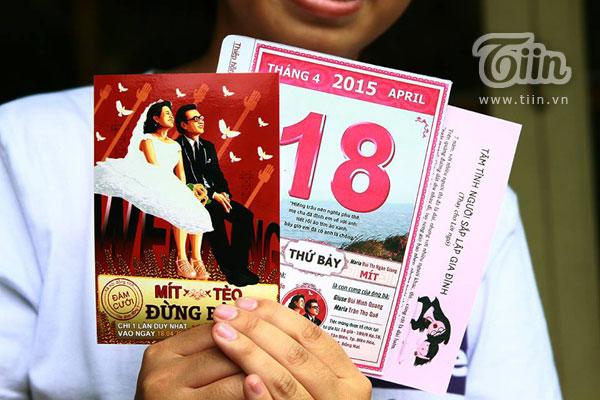 Thiệp cưới độc đáo vui nhộn của cặp đôi Đồng Nai
